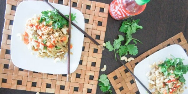 "A New Year + Thai Ginger ""Fried Rice"""