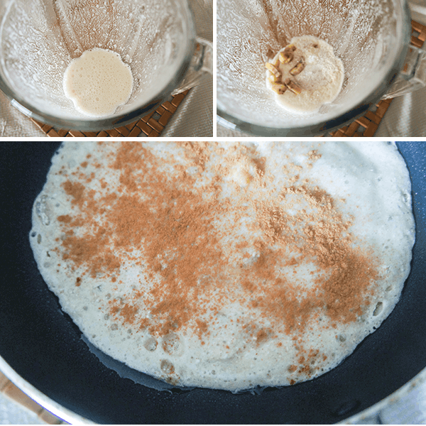 Buckwheat Pancake Process