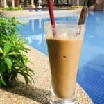 Chiang Mai Old Town + Frozen Banana Coffee