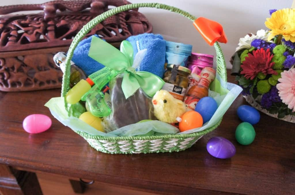 The Manly Easter Basket + Date-Caramel Chocolate Bunny