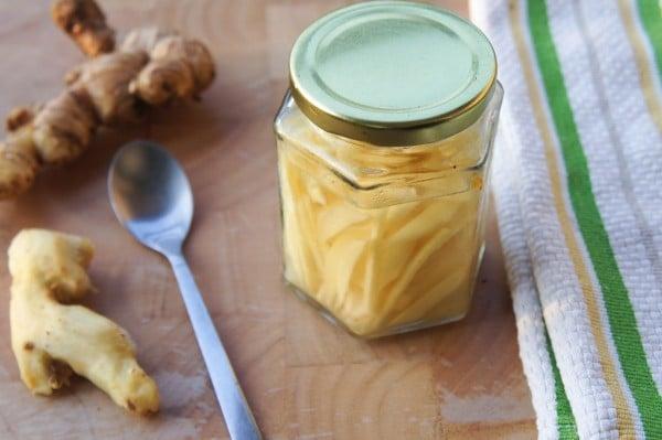 Pickled Ginger- Preserving fresh ginger