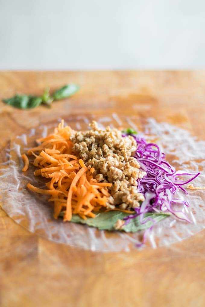 Thai Spring Rolls with