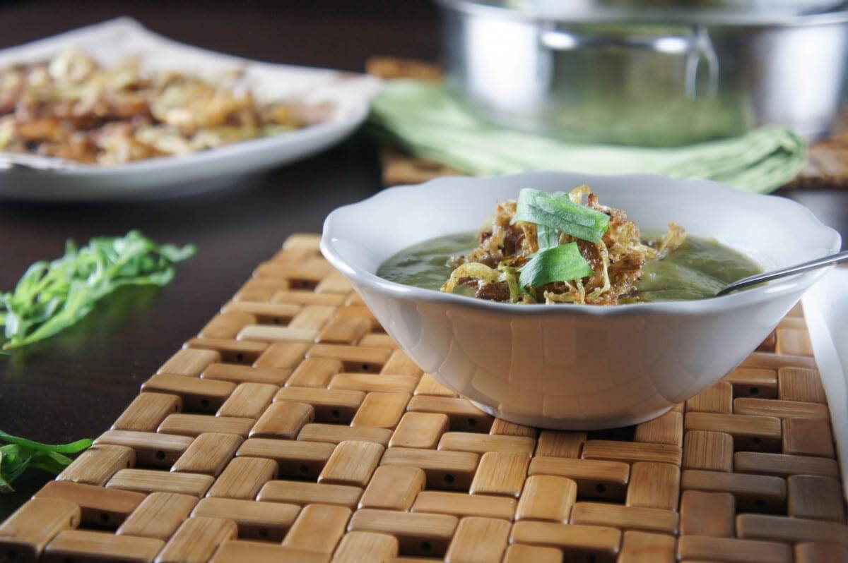 Comforting Broccoli Leek Soup