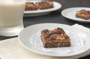 No-Bake German Chocolate Cookie Bars