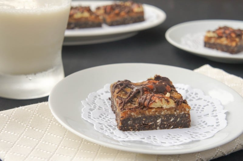No-Bake German Chocolate Cookie Bars