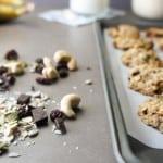 Breakfast Cookies {Vegan, Gluten Free, and No-Sugar Option}