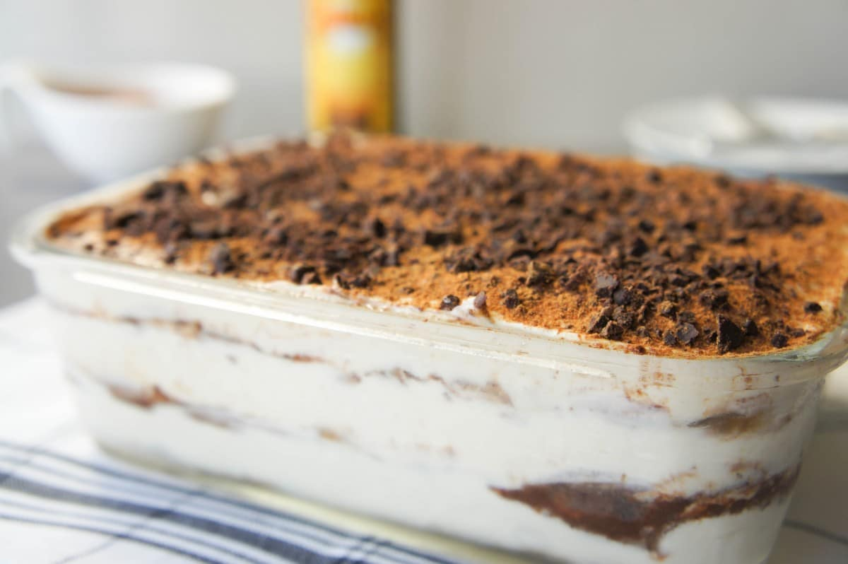 Greek Yogurt Tiramisu