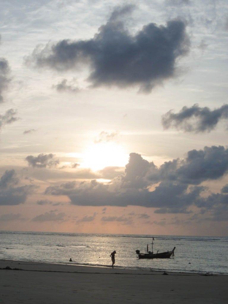 Sunset at Nai Yang