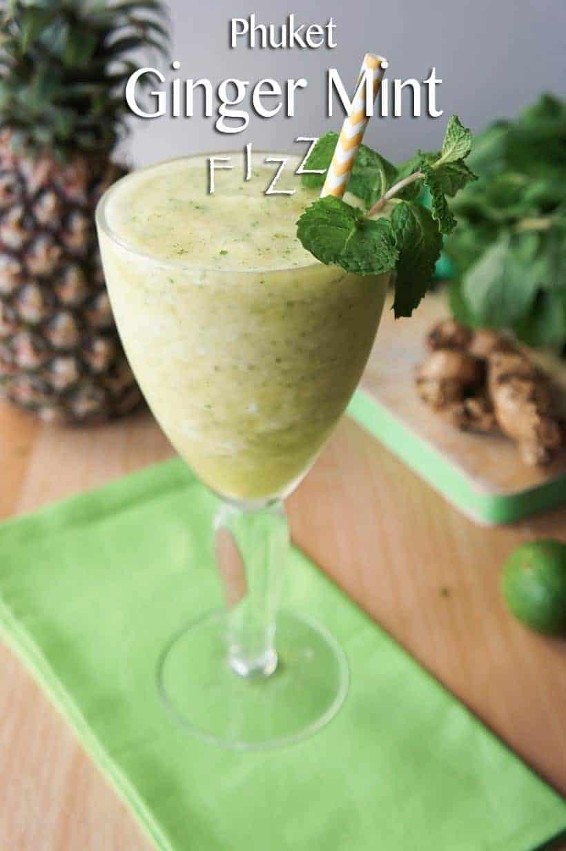 Phuket Ginger Mint Fizz