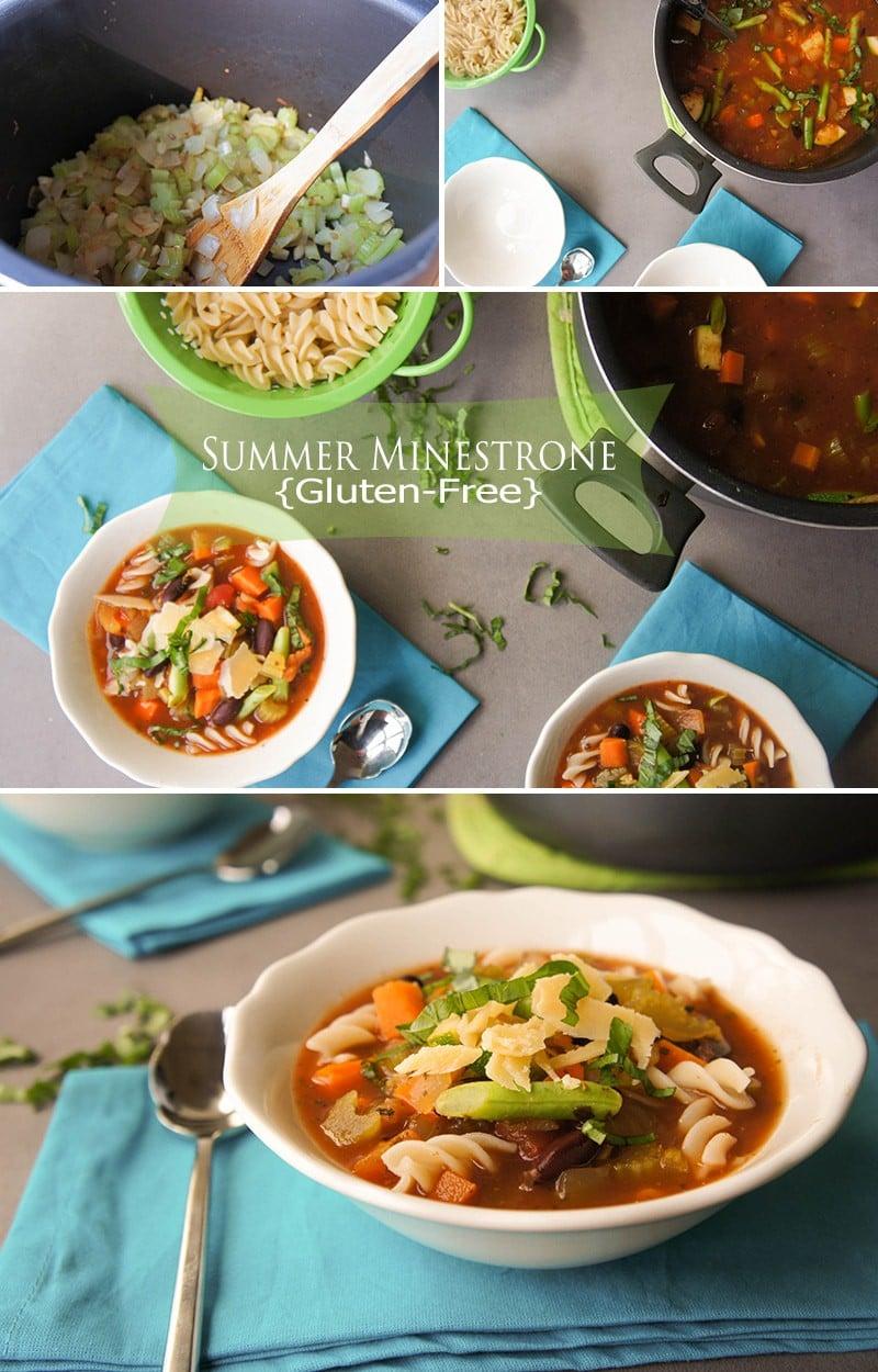 Summer Minestrone - Gluten Free