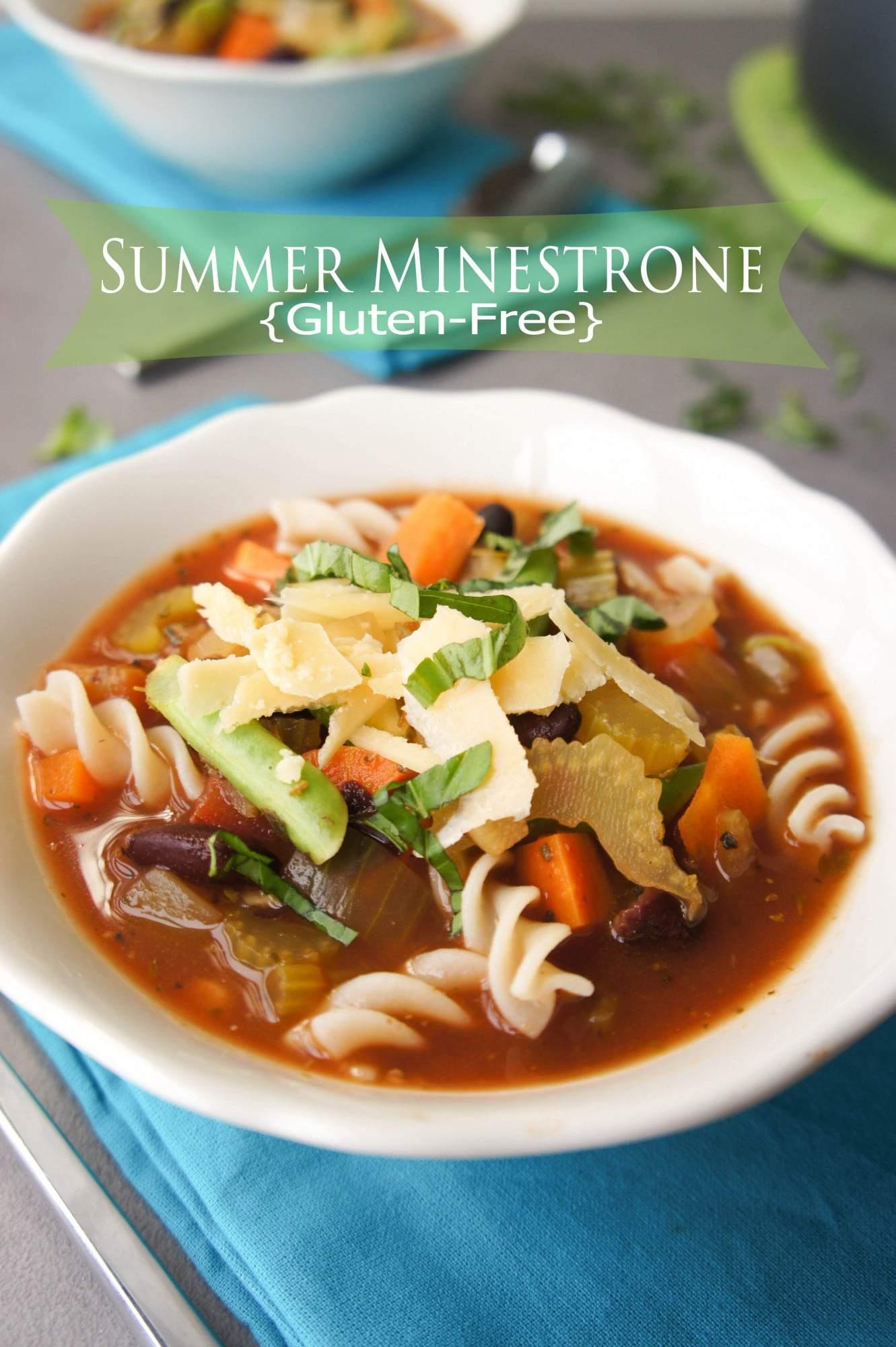 summer minestrone
