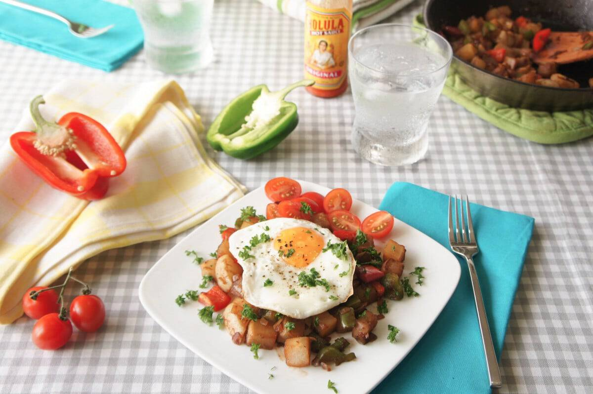 Low Carb Hash {Paleo}