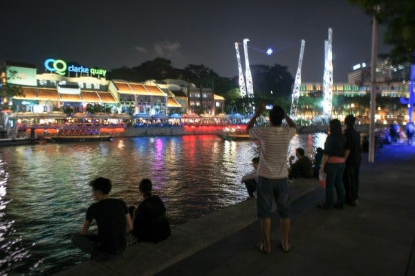 Clarke's Quay Singapore