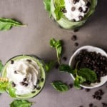 Chocolate Chip Mint Smoothie