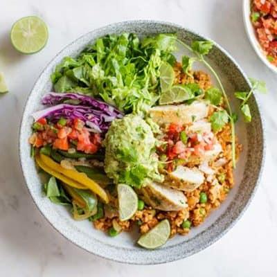 Whole30 Chipotle Burrito Bowl Recipe