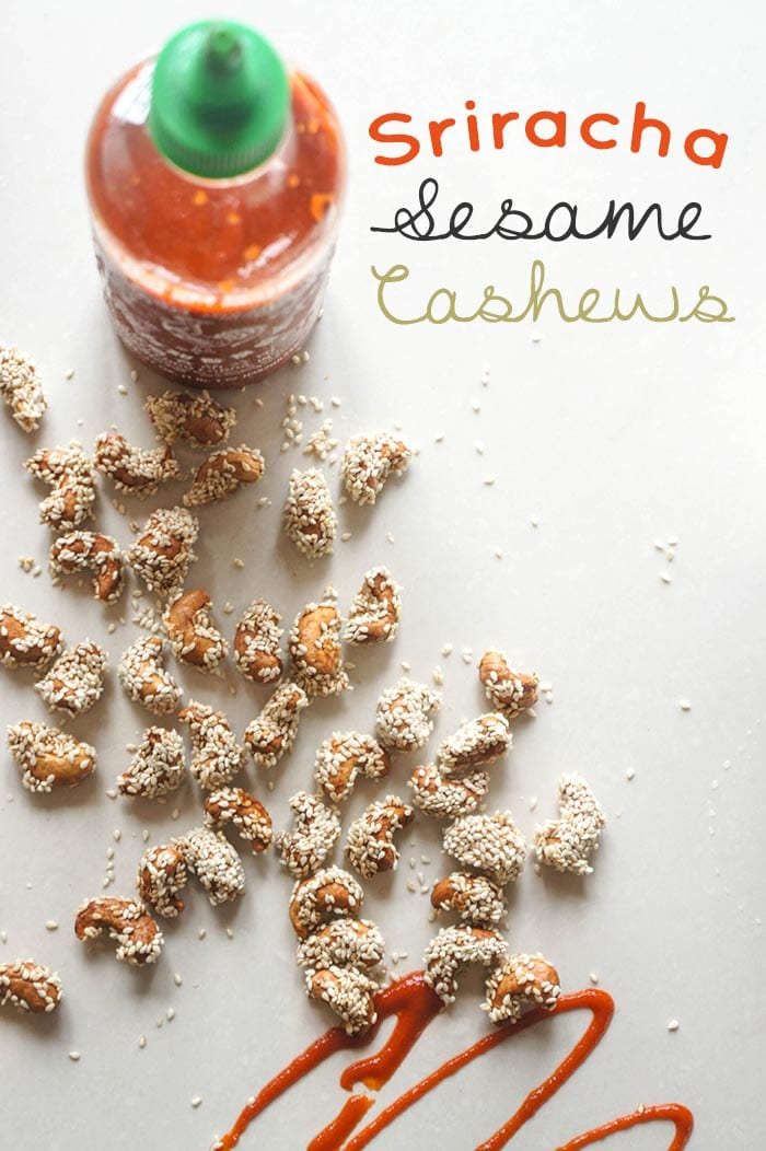 Sriracha Sesame Cashews
