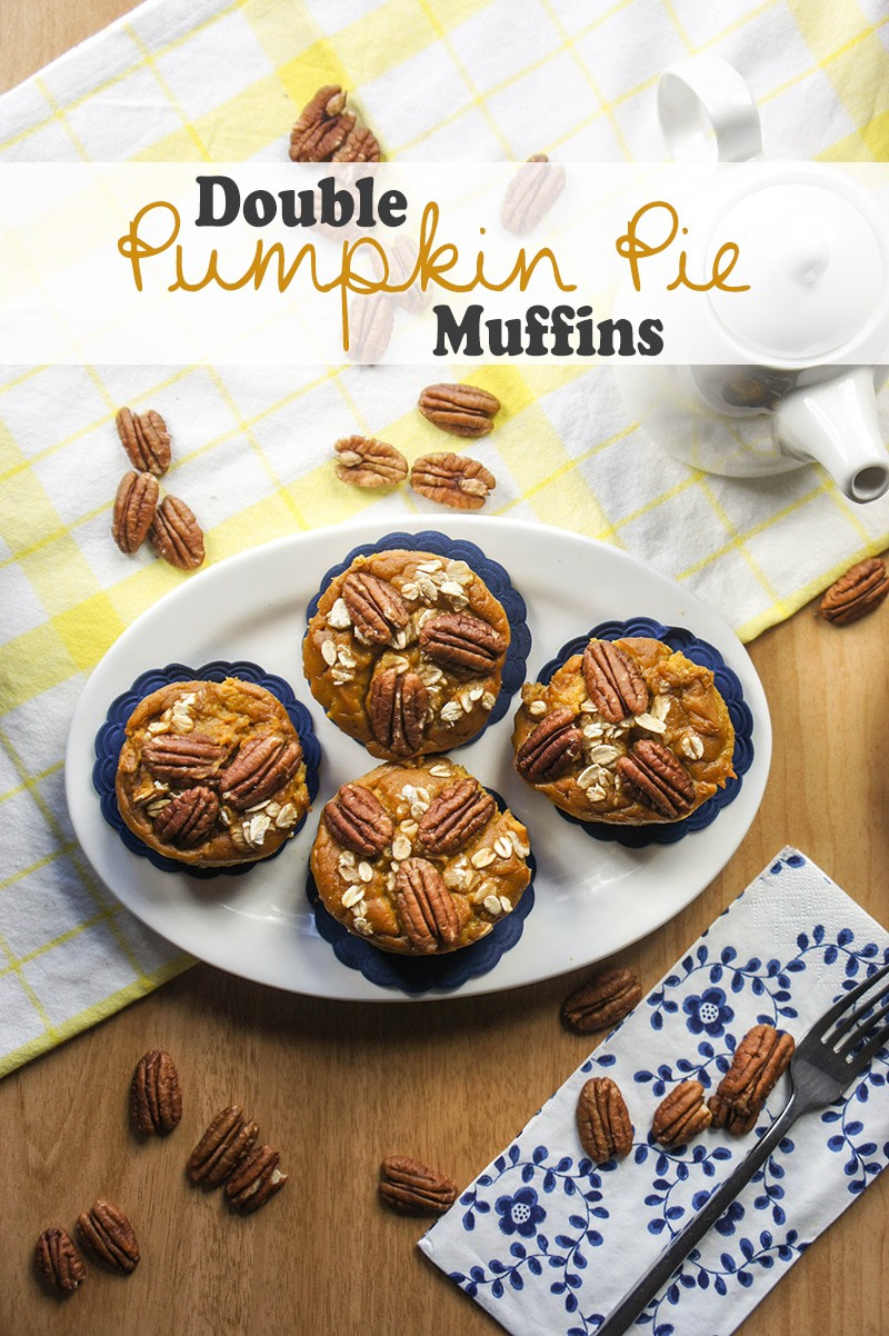 Double Pumpkin Pie Muffins