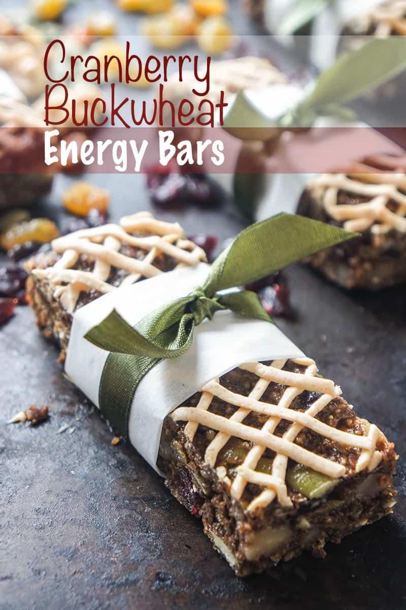 Cranberry Buckwheat Energy Bars