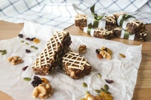 Cranberry Buckwheat Energy Bars