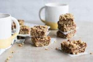 Gluten Free Date Bars {No Added Sugar}