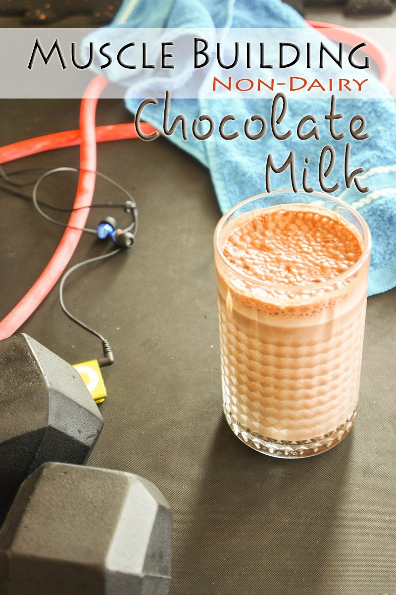 Muscle Building Chocolate Milk