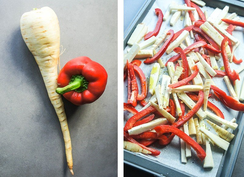 Parsnips and Peppers