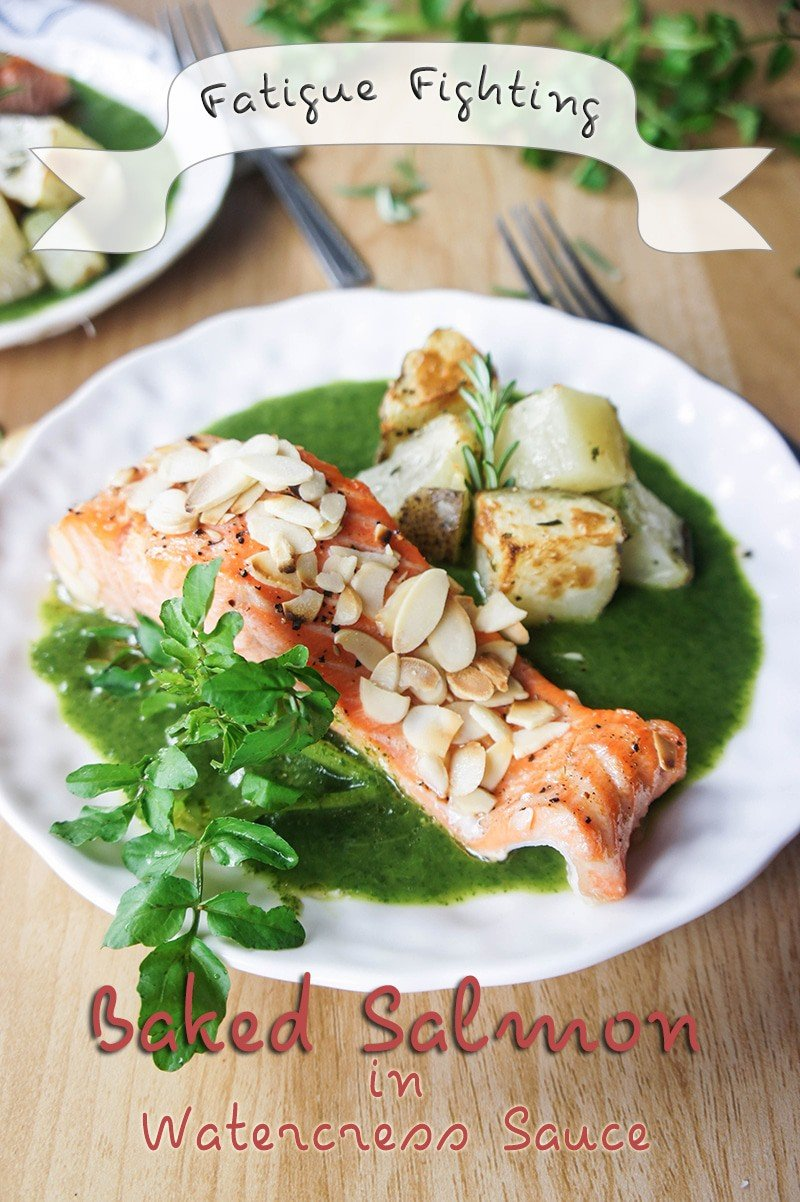 Salmon in Watercress Sauce