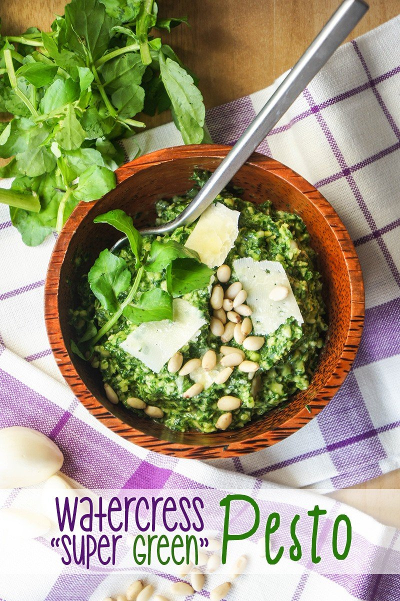 Watercress Super Green Pesto