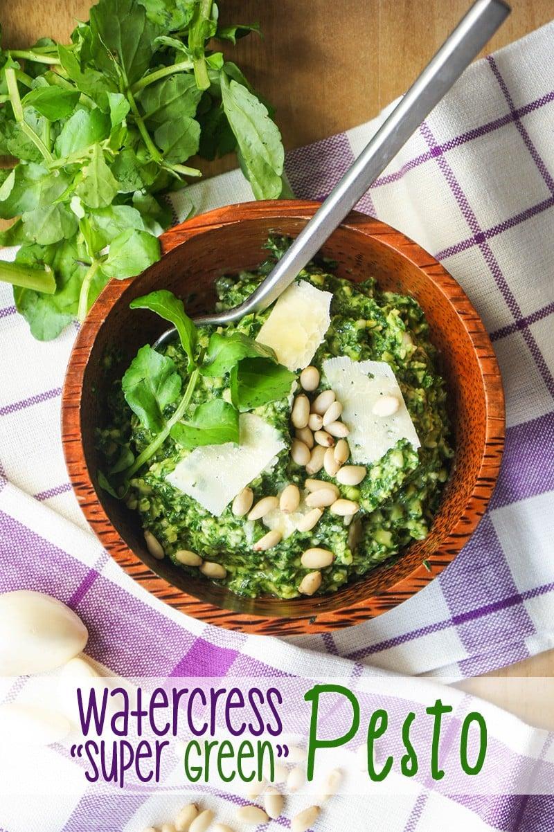 Watercress Super Green Pesto
