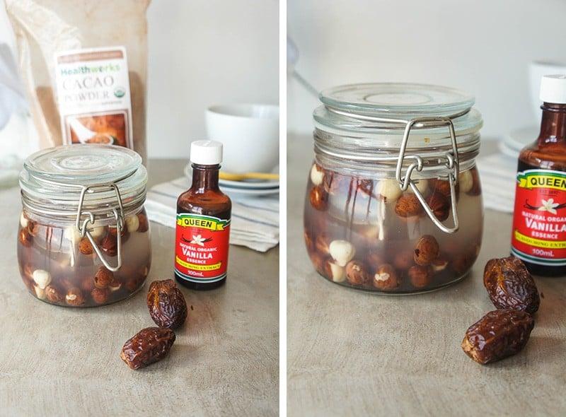 Soaked Hazelnuts
