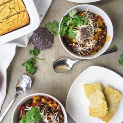 Crockpot Chicken Taco Chili