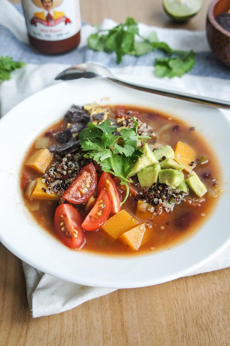 Quinoa and Butternut Soup