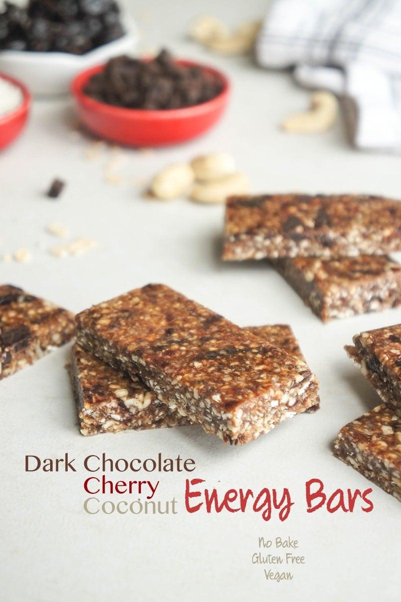Cherry Ripe Energy Bars