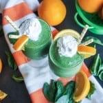 Orange Dreamcicle Green Smoothie
