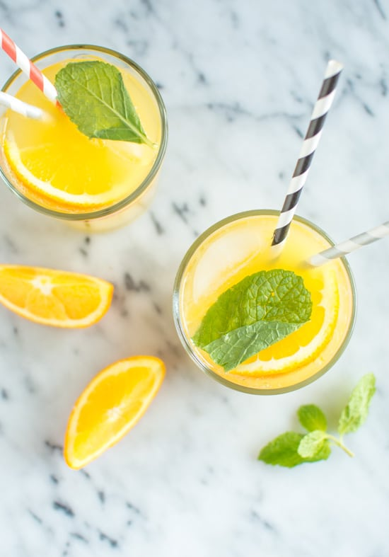 Orange Mint Coconut Water 5