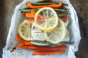 Rainbow Trout in Parchment