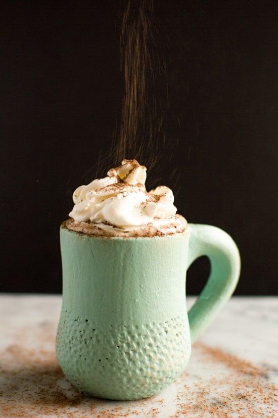 Coconut Kahlua Hot Chocolate 1