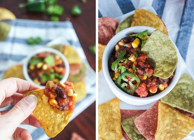 Southwest Salsa and Chips
