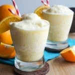Whole Fruit Orange Julius + Exciting News!