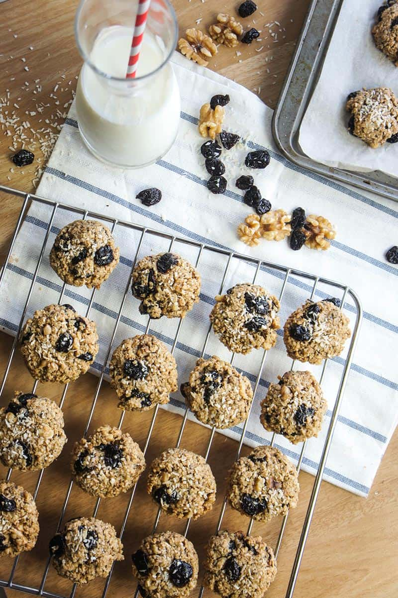 Chewy Cherry Cookies