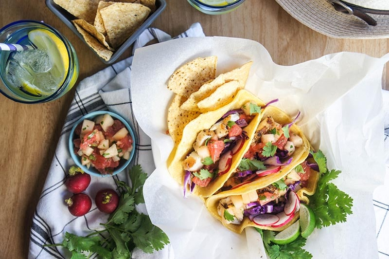 Sunrise Salsa Tacos