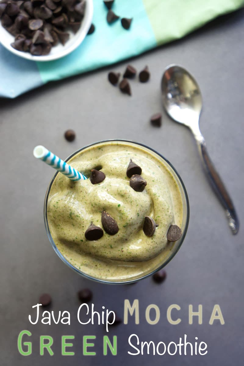 Java Chip Mocha Green Smoothie