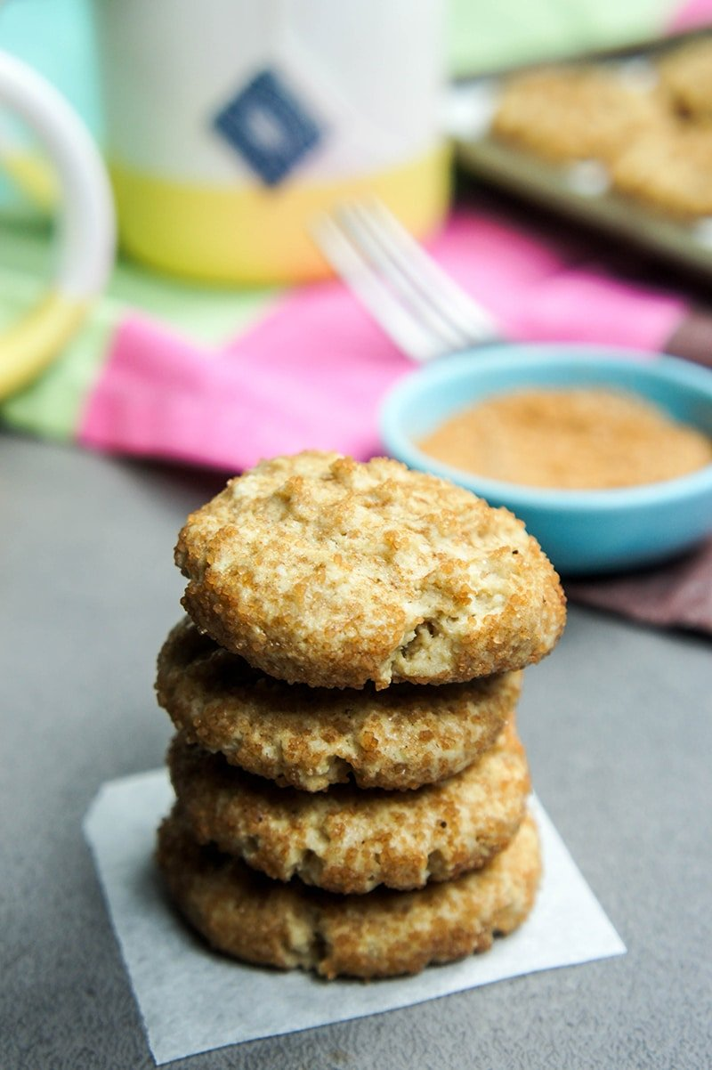 Whole Food Snickerdoodles