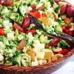 Mayo-Free Broccoli Salad & My Baby Shower