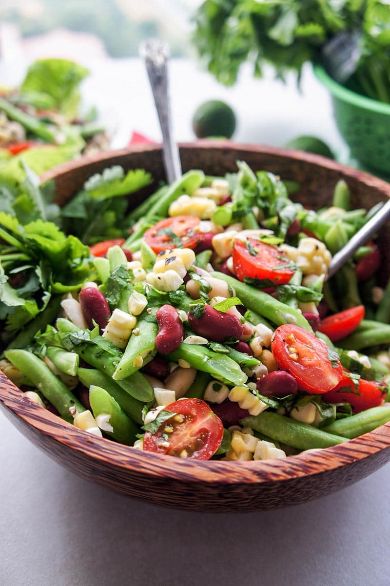salad three bean salad with goose three bean salad three bean salad i ...