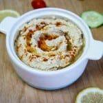 Roasted Cauliflower and White Bean Hummus