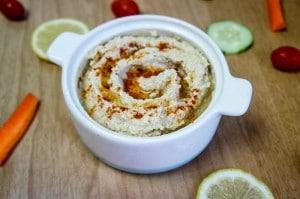 Roasted Cauliflower and White Bean Hummus