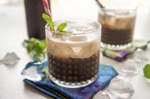 Coconut Mint Iced Mocha + HOT Summer Recipes