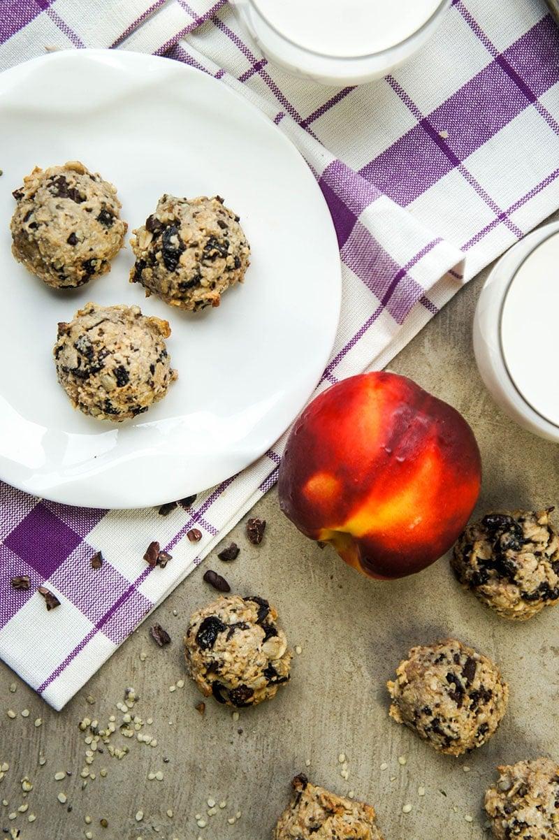 Cherry Chocolate Breakfast Cookies