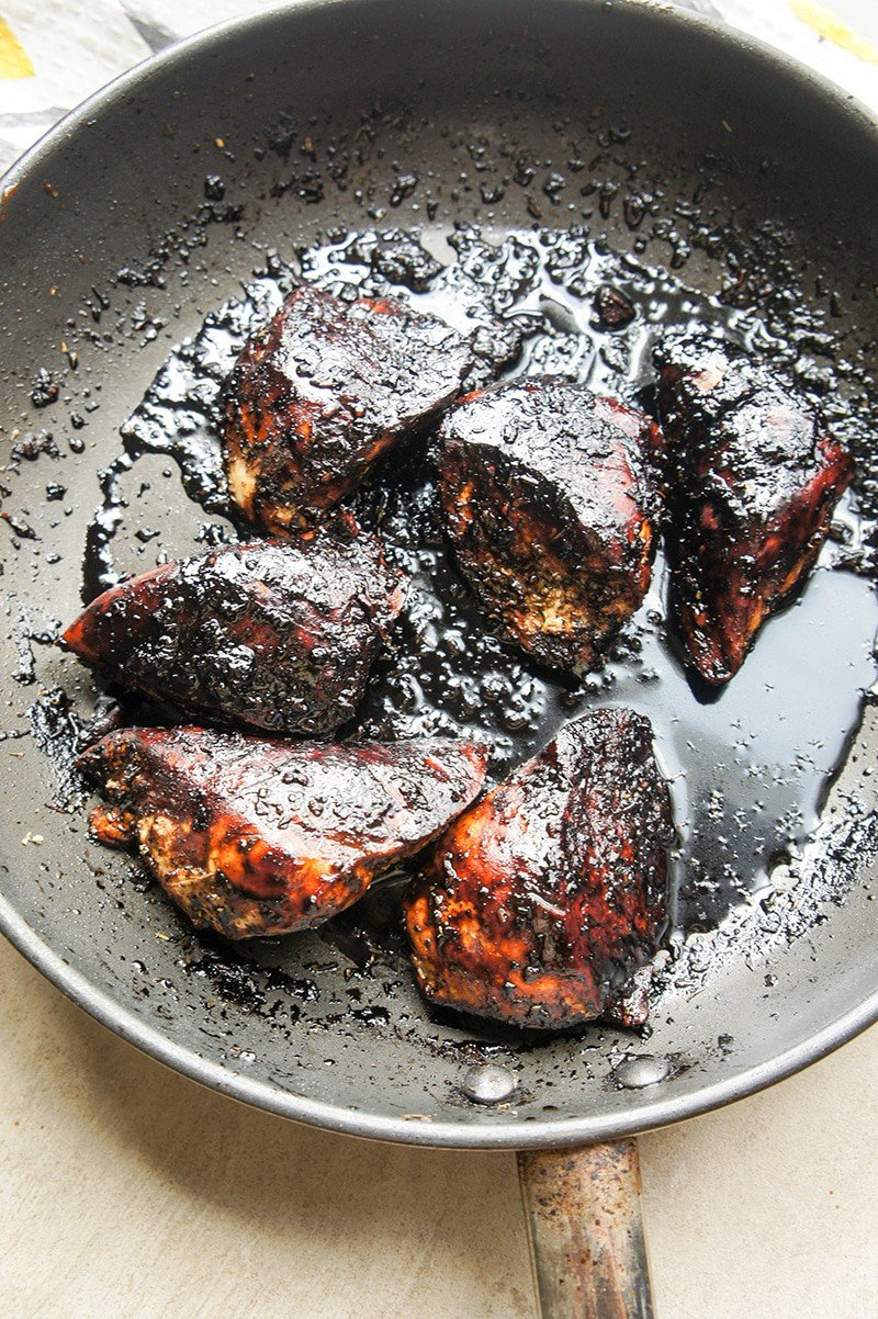 Burnt Chicken